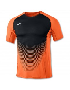 Tricou Elite VI orange-negru