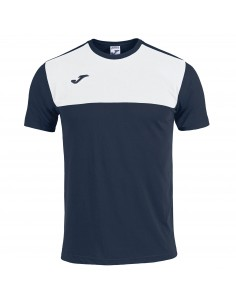 Tricou Winner navy-alb