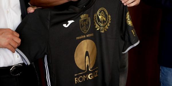 Prezentarea tricourilor de joc Gaz Metan Medias, pentru sezonul 2020-2021