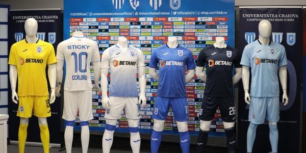 Prezentarea echipamentelor pentru sezonul 2019/2020